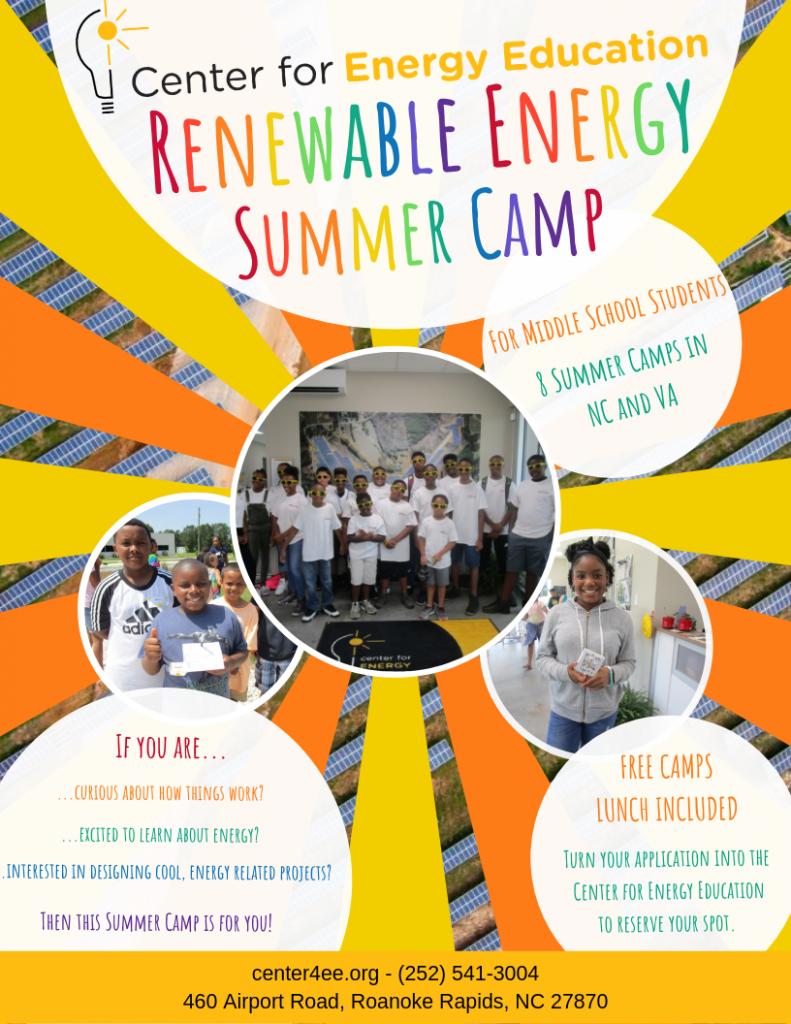 Renewable Energy Summer Camps 2019